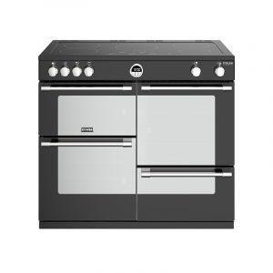 Stoves Sterling Deluxe S1000EI 444444949 100cm Black Induction Range Cooker