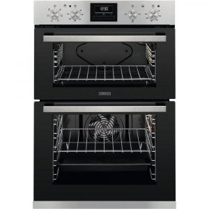 Zanussi ZOA35660XK Built In Electric Double Oven – Stainless Steel – A Energy Rated