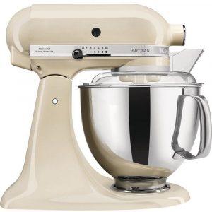 KitchenAid 5KSM175PSBAC  Artisan 4.8 Litre Stand Mixer – Almond Cream