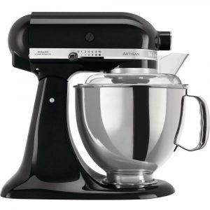 KitchenAid 5KSM175PSBOB Artisan 4.8 Litre Stand Mixer – Onyx Black