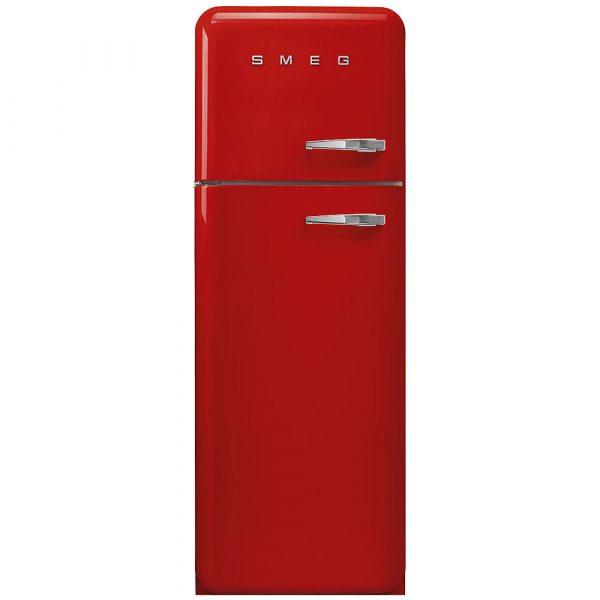 Smeg FAB30LRD3UK 50s Retro Red Fridge Freezer Left Hand Hinge