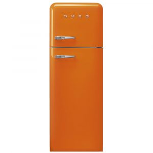 Smeg FAB30ROR3 50s Retro Orange Fridge Freezer Right Hand Hinge