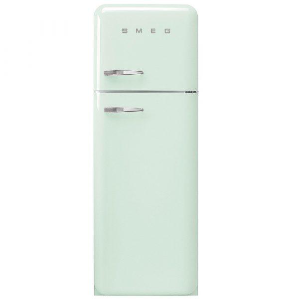 Smeg FAB30RPG3UK 50s Retro Pastel Green Fridge Freezer Right Hand Hinge