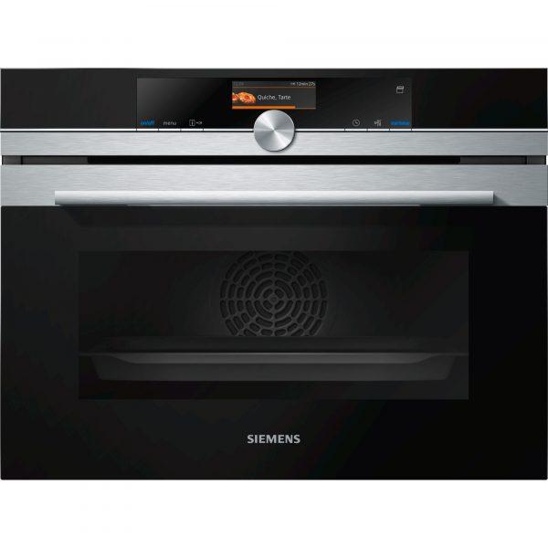Siemens CS656GBS7B iQ700 Compact 45cm Combination Steam Oven