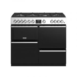 Stoves Precision Deluxe S1000G 444410764 100cm Gas Stainless Steel Range Cooker