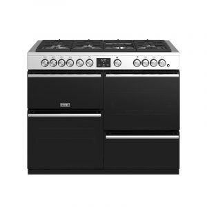 Stoves Precision Deluxe S1100G 444410766 110cm Gas Stainless Steel Range Cooker