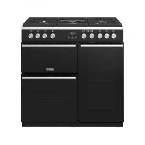 Stoves Precision Deluxe S900G 444410761 90cm Gas Black Range Cooker