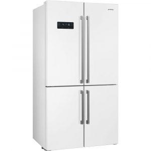 Smeg FQ60B2PE1 91cm American Style Fridge Freezer White