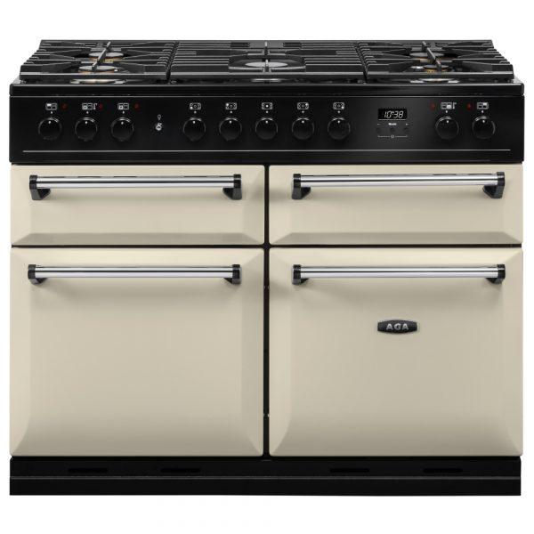 AGA MDX110DFCRM Masterchef Deluxe Dual Fuel Range Cooker Cream 110cm