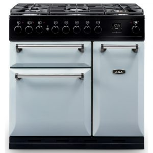 AGA MDX90DFPAS Masterchef Deluxe 90cm Dual Fuel Range Cooker Pearl Ashes