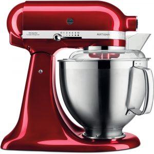 KitchenAid 5KSM185PSBCA Artisan 4.8 Litre Stand Mixer – Candy Apple