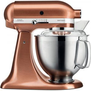 KitchenAid 5KSM185PSBCP Artisan 4.8 Litre Stand Mixer – Copper