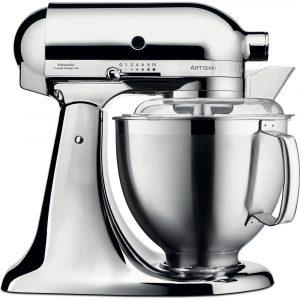 KitchenAid 5KSM185PSBCR Artisan 4.8 Litre Stand Mixer – Chrome