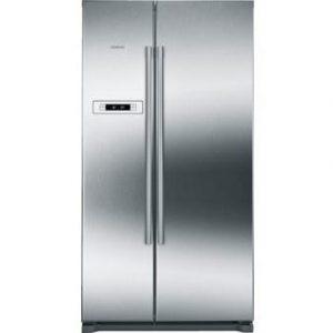 Siemens KA90NVI20G iQ300 American side-by-side Inox-easyclean fridge freezer