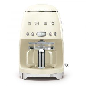 Smeg DCF02CRUK Drip Filter Coffee Machine Cream 50s Style