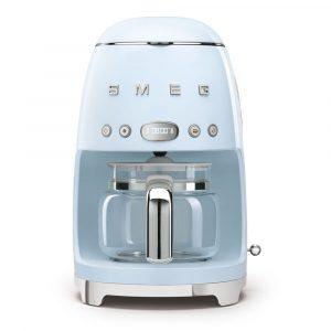 Smeg DCF02PBUK Drip Filter Coffee Machine Pale Blue 50s Style