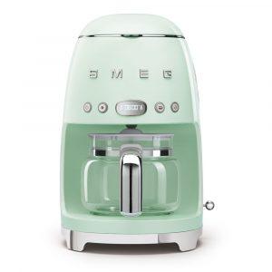 Smeg DCF02PGUK Drip Filter Coffee Machine Pastel Green 50s Style