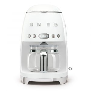 Smeg DCF02WHUK Drip Filter Coffee Machine White 50s Style