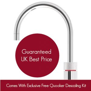 Quooker 2.2NRCHR COMBI 2.2 Nordic Round Tap – Chrome With COMBI Tank