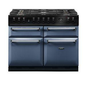 AGA MDX110DFDAR Masterchef Deluxe 110cm Dual Fuel Range Cooker Dartmouth Blue