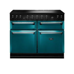 AGA MDX110EISAL Masterchef Deluxe 110cm Induction Range Cooker Salcombe Blue