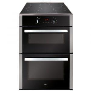CDA CFN670SS 60cm Double Cavity Freestanding Cooker Ex Display