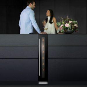Caple Wi156 SENSE Undercounter Single Zone Wine Cabinet