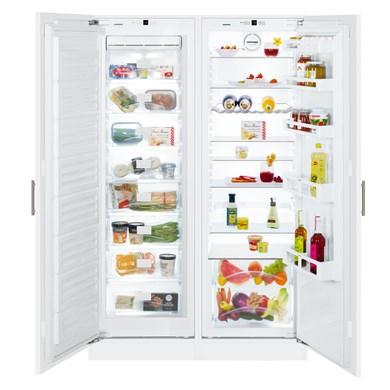 Liebherr SBS 70I2 Premium NoFrost Integrated side-by-side combination fridge freezer
