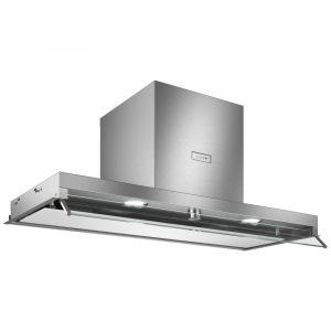 Neff D94XAF8N0B 90cm Clear Glass White Printed Wall-mounted cooker hood