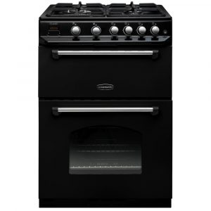 Rangemaster CLAS60NGFBL C Classic 60cm Black Gas Cooker - Stock Clearance
