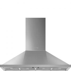 Smeg KPF12X Portofino 120cm Stainless Steel Chimney Hood