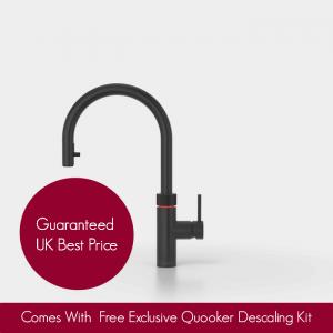 Quooker 2.2XBLK COMBI 2.2 Flex Tap – Black With COMBI Tank