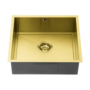 1810 AXIXUNO 450U GOLD BRASS SOS Sink
