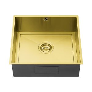 1810 AXIXUNO 450U GOLD BRASS QG Sink