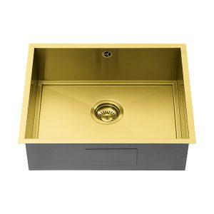 1810 AXIXUNO 500U GOLD BRASS SOS Sink