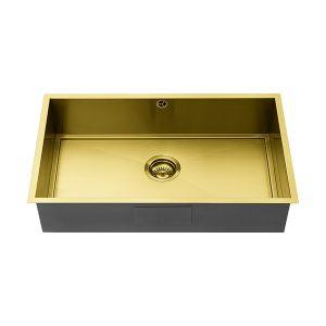 1810 AXIXUNO 700U GOLD BRASS SOS Sink