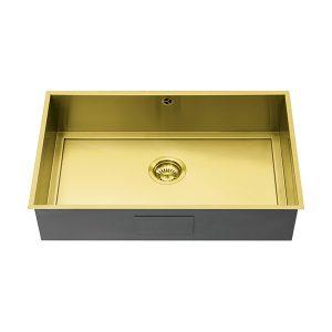 1810 AXIXUNO 700U GOLD BRASS QG Sink