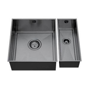 1810 AXIXUNO SET A – 355U & 150U GUNMETAL Sink