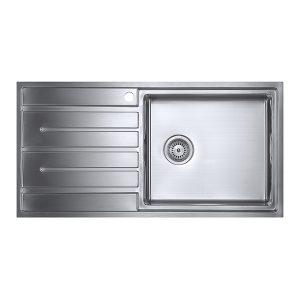 1810 FORZAUNO 100i LARGE BBR Sink