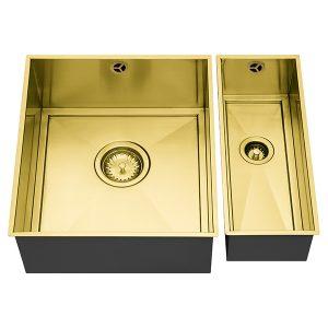 1810 AXIXUNO SET A – 355U & 150U GOLD BRASS Sink
