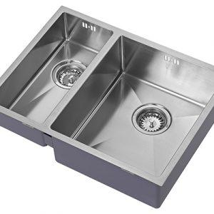1810 ZENDUO15 180/340U BBR Sink