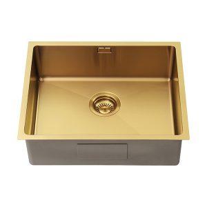 1810 ZENUNO15 500U PVD GOLD BRASS Sink