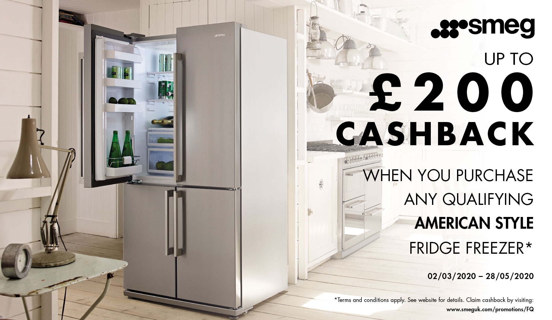 Smeg 2020 Refrigeration Cashback