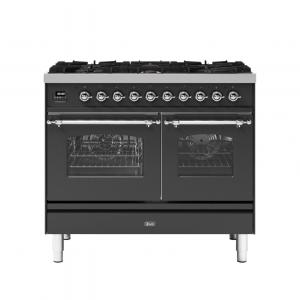 ILVE  100cm Milano 6 Burner Double Oven Dual Fuel Range Cooker