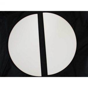 Kamado Joe BJ-HDP Half Moon Deflector Plates x 2 – Big Joe ® (set =2 half moon plates)