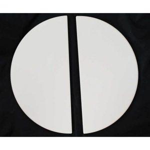 Kamado Joe KJ-HDP Half Moon Deflector Plates – Classic Joe (set =2 half moon plates)