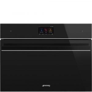 Smeg SF4604WVCPNX Dolce Stil Novo Compact Combination Steam Microwave WIFI Oven