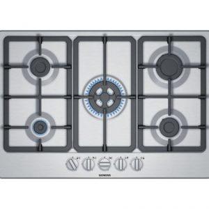 Siemens EG7B5QB90 iQ300 75cm Stainless Steel Gas hob