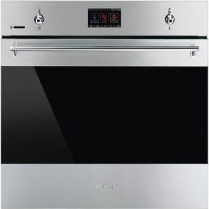 Smeg SFP6303WTPX Classic Aesthetic 60cm Pyrolytic Multifunction WIFI Oven