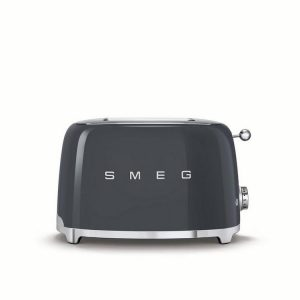 Smeg TSF01GRUK 2 Slice Toaster – Slate Grey